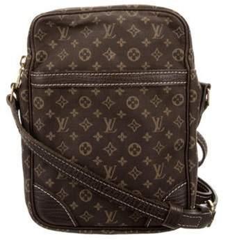 Louis Vuitton Mini Lin Danube Bag tan Mini Lin Danube Bag