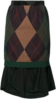 Kolor レイヤード スカート