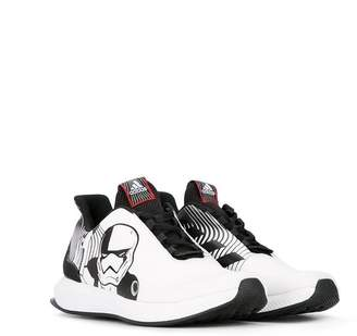 Star Wars Adidas Kids lace-up sneakers