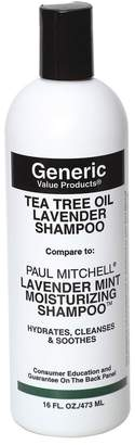 Paul Mitchell Generic Value Products Tea Tree Oil Lavender Shampoo Compare to Lavender Mint Moisturizing Shampoo