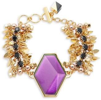 Ryu Nocturne Women's Crystal Statement Bracelet