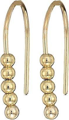 French Connection Women's Small Dot Drop Earrings