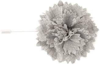 Lanvin carnation flower tie pin