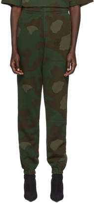Off-White Off White Multicolor Camo Stencil Lounge Pants