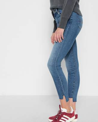 7 For All Mankind High Waist Ankle Skinny with Step Hem in Fillmore