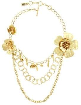 Jessica Simpson Garden Party Update Layered Necklace