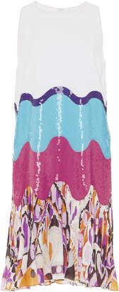 Emilio Pucci Sequin Embroidered Mini Dress