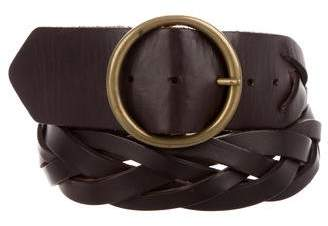 Theory Woven Leather Belt