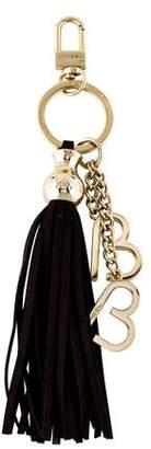 Lancel Tassel Charm Keychain