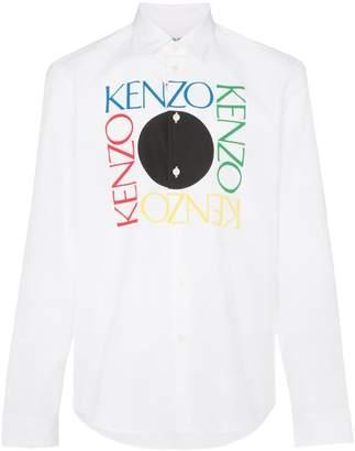 Kenzo logo print shirt