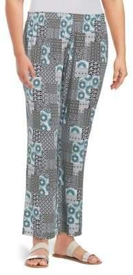 Context Plus Printed Pants