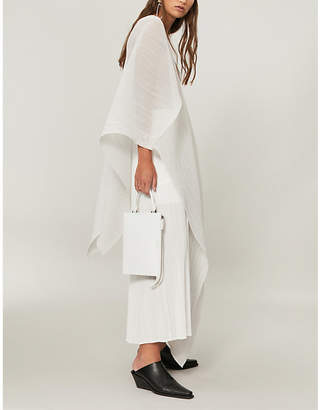Pleats Please Issey Miyake Madame pleated cover-up dress