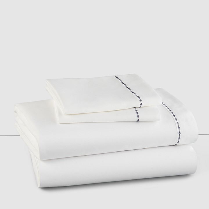 Vera Wang Diamond Shibori Sheet Set, Queen