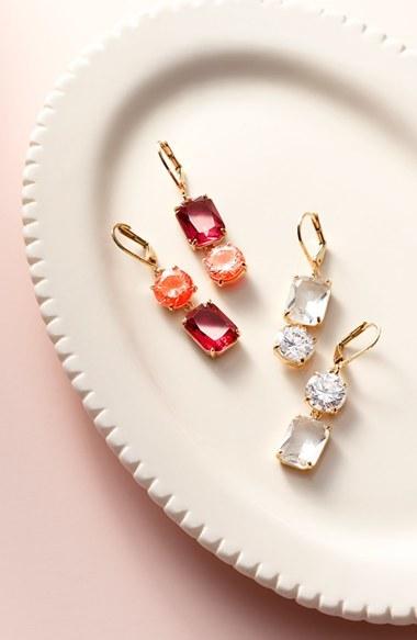 Women's Kate Spade Shine On Mismatched Drop Earrings 3