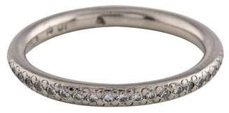 Michael B. Platinum Diamond Wedding Band