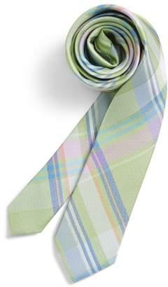Nordstrom Primavera Plaid Silk Tie