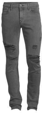 J Brand Mick Skinny Distressed Jeans