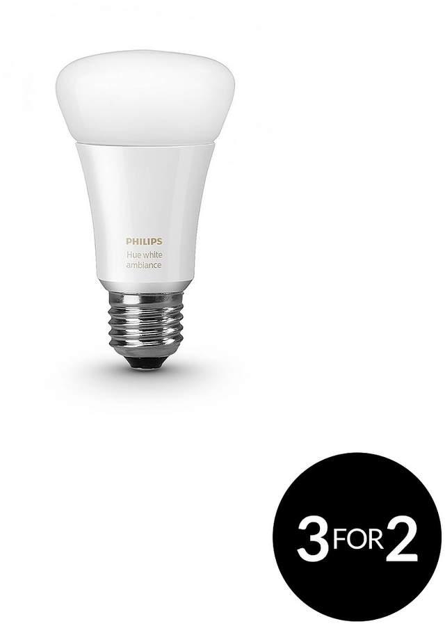Hue White Ambiance E27 Single Bulb