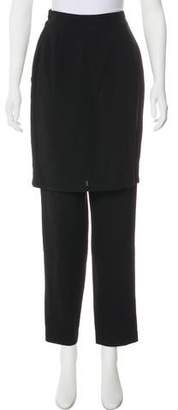 Gianni Versace Wool Straight-Leg Pants