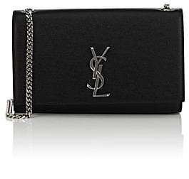 Saint Laurent Women's Monogram Kate Medium Leather Shoulder Bag - Black