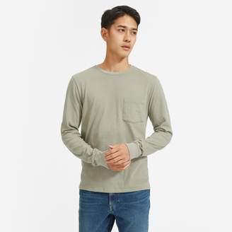 Everlane The Cotton Long-Sleeve Pocket Tee | Uniform
