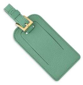 Graphic Image Leather Luggage Tag