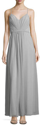 Fame & Partners Cross Tide V-Neck Maxi Dress