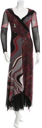 Jean Paul Gaultier Printed Midi Dress $245 thestylecure.com