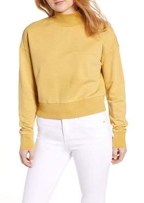 BP Washed Mock Neck Sweatshirt