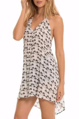 Elan International Woven Halter Dress
