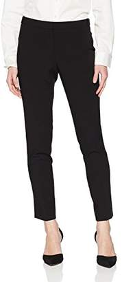 Calvin Klein Women's Petite Lux Highline Pant with Button Closure