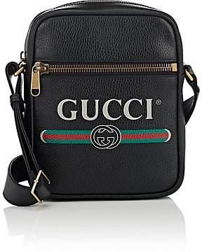 fa8e40642c7d Gucci Men's Leather Messenger Bag - Black