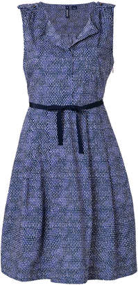 Woolrich belted flared dress