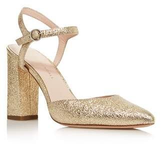 Loeffler Randall Women's Leily Pointed Toe Metallic Leather High-Heel Pumps