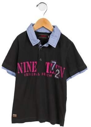 Catimini Boys' Printed Lightweight Shirt