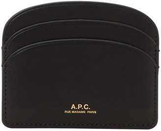 A.P.C. Half-Moon leather card holder