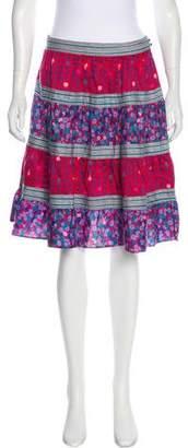 Marc Jacobs Printed Knee-Length Skirt