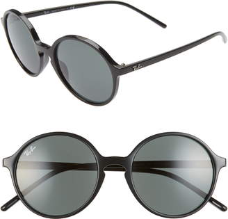 Ray-Ban 53mm Round Sunglasses