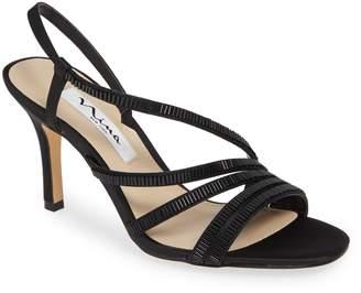 Nina Amani Asymmetrical Strappy Slingback Sandal
