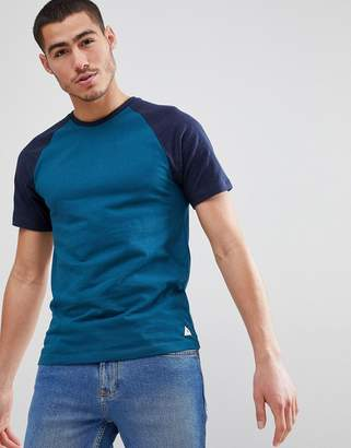 Jack Wills Verwood Raglan T-Shirt in Navy