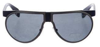 Prada Tinted Aviator Glasses