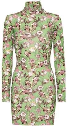 Vetements Printed minidress