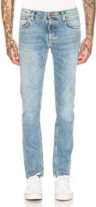 Nudie Jeans Thin Finn Jean in Light Blue Comfort | FWRD