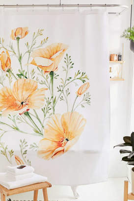 Deny Designs Shealeen Louise For Deny California Poppies Shower Curtain