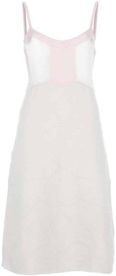 Jil Sander slim knit dress