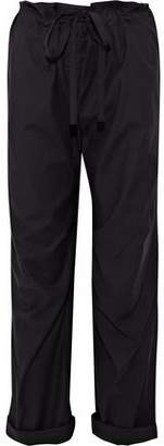 Rag & Bone Seawater Cropped Poplin Straight-Leg Pants