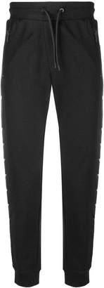 Emporio Armani logo stripe track pants