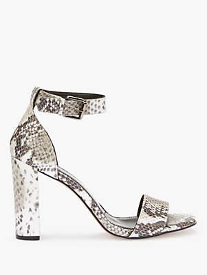 d572e4b15686 Mint Velvet Lucy Ankle Strap Block Heel Sandals
