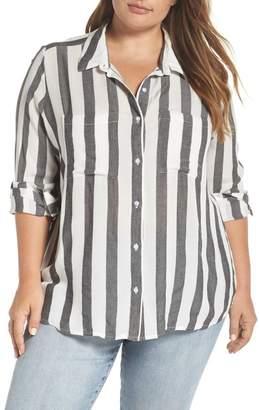 BP Perfect Stripe Shirt (Plus size)
