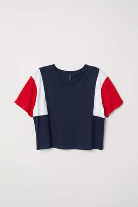 H&M Short T-shirt - Blue